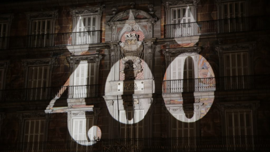 A Nova Plaza Mayor de Madri completou 400 anos