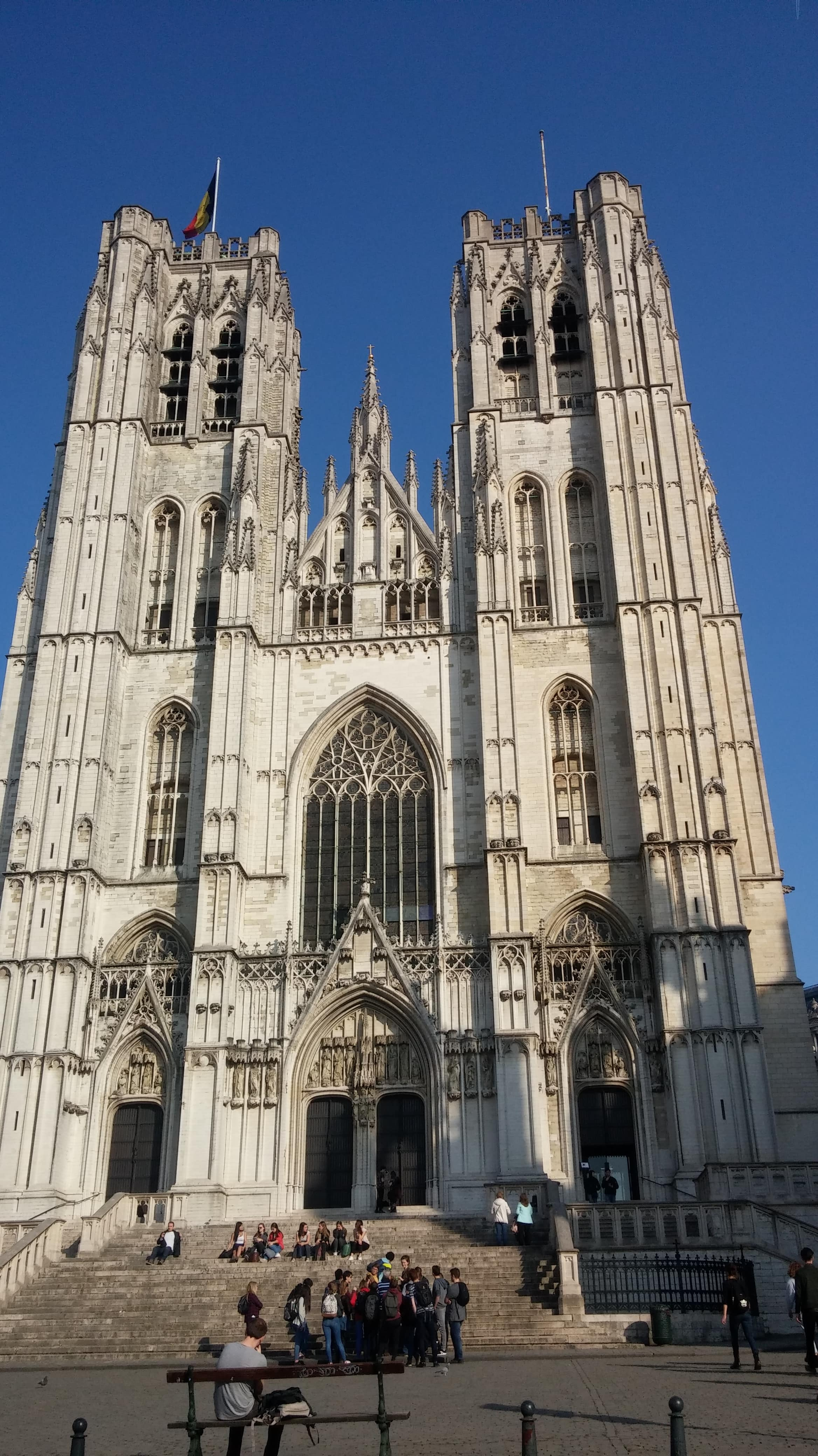 Catedral sao Miguel - O que fazer em bruxelas