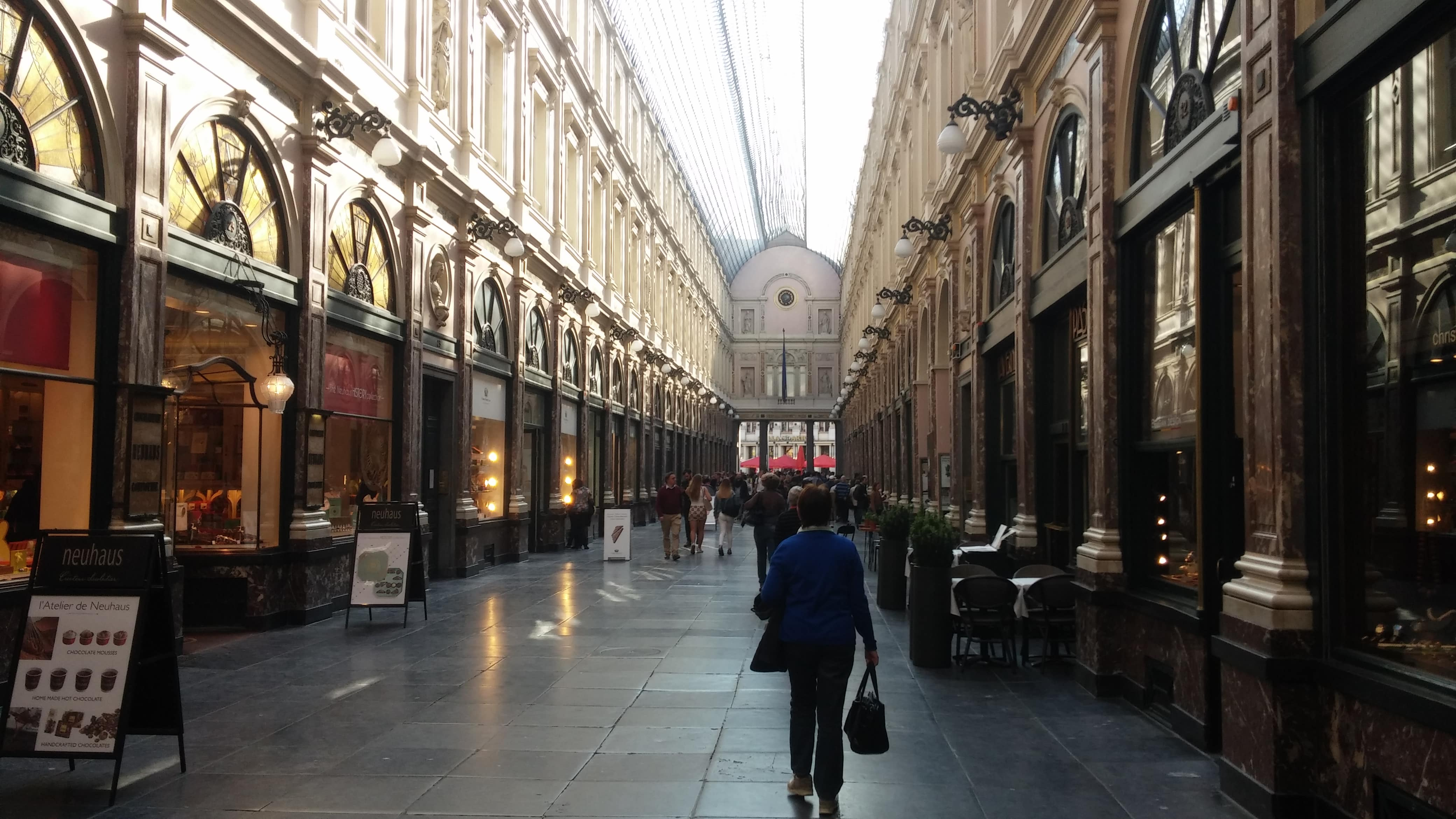 Galeria Royale - o que fazer em bruxelas