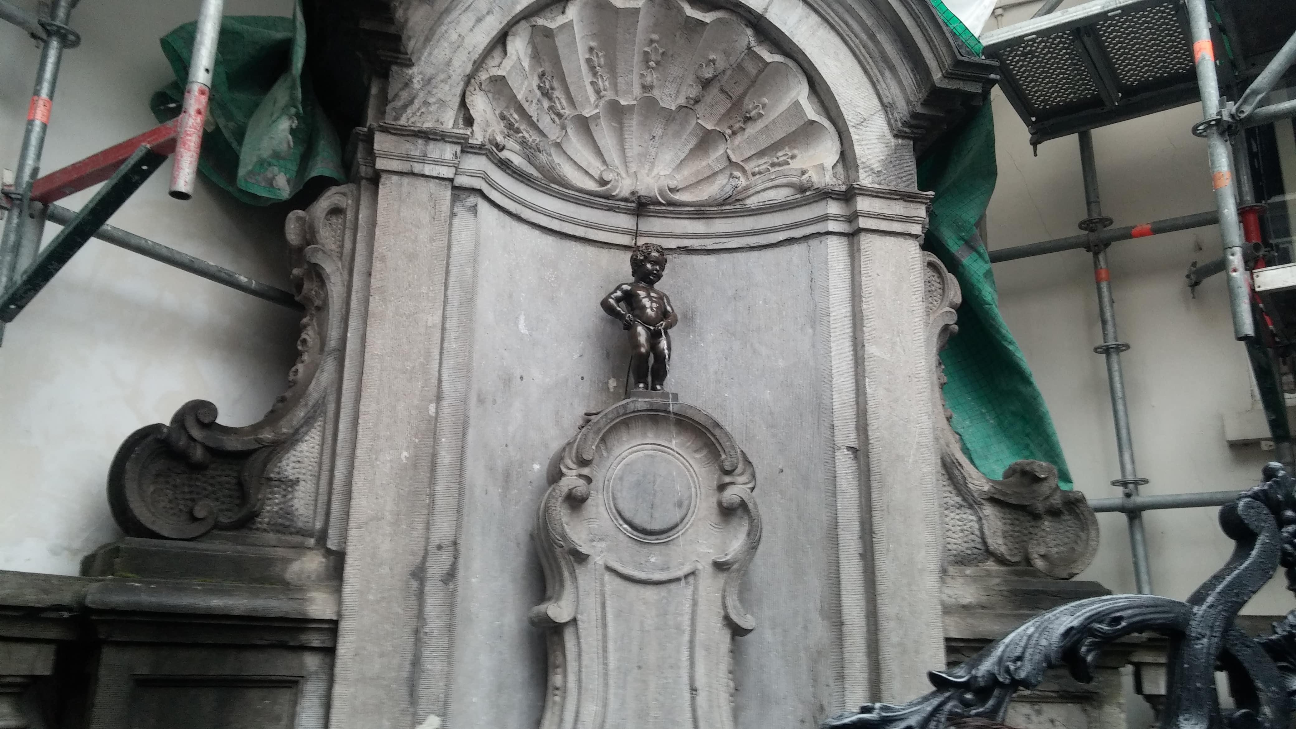 Manneke Pis - o que fazer em bruxelas