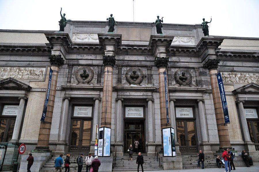 museos-reales-bellas-artes-belgica- o que fazer em bruxelas