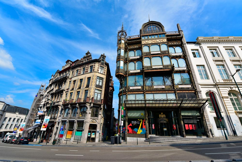 museu instrumentos musicais - o que fazer em bruxelas