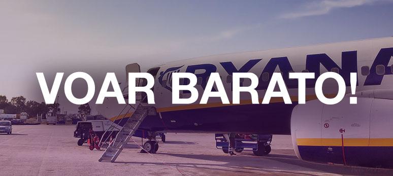 Viajar barato na europa - voar barato