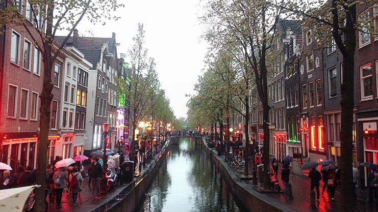 bairro red light district - amsterdam