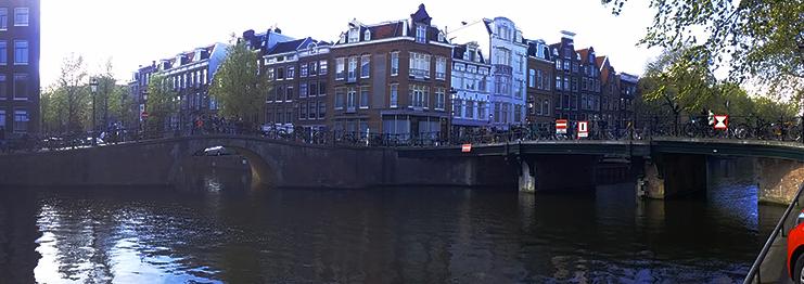 jordaan panoramica - amsterdam