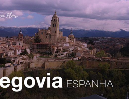 Segovia Espanha: um passeio entra um Alcázar único e um aqueduto de 2 mil anos